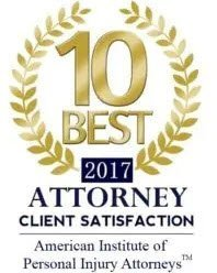10 Best Personal Injury Lawyers 2017