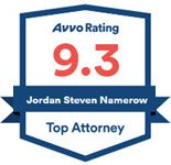 Jordan Namerow Avvo Rated 9.3